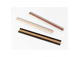 aluminum-wood-ruler-15cm-black