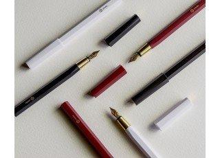 resin-fountain-pen-white-m-nib