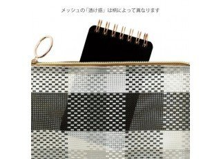 mesh-graphics-gusset-pouch-check-black