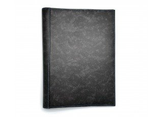 leather-find-note-cover-antique-shade-leather-custom-grey