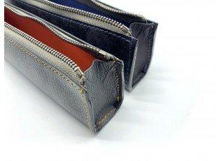 leather-find-pen-case-goat-shrink-leather-custom-grey