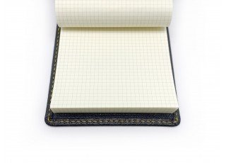 leather-find-memo-cover-goat-shrink-leather-custom-grey