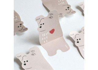 sticky-note-animal-brown-bear