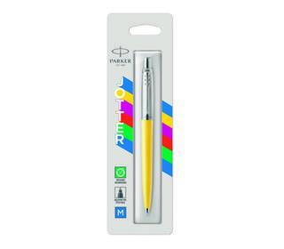 parker-jotter-originals-yellow-chrome-colour-trim-ballpoint-pen-blister