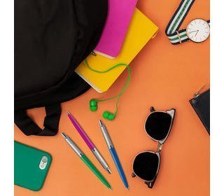 parker-jotter-originals-green-chrome-colour-trim-ballpoint-pen-blister