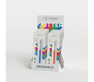 parker-jotter-originals-display-12-pcs-ballpoint-pens-90-s-colour-holds-blister