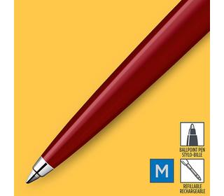 parker-jotter-originals-red-chrome-colour-trim-ballpoint-pen-blister