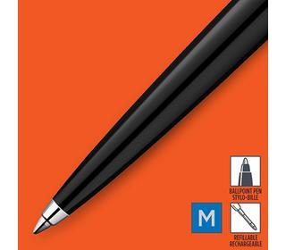parker-jotter-originals-black-chrome-colour-trim-ballpoint-pen-blister
