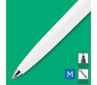 parker-jotter-originals-white-chrome-colour-trim-ballpoint-pen-blister