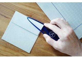 letter-opener-blue