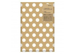 ch-one-side-clear-bag-m-front-print-dots