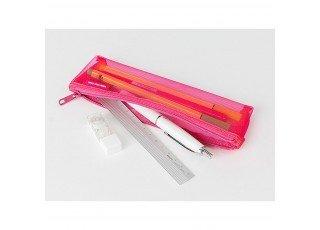 cl-mesh-mini-pen-pouch-pink