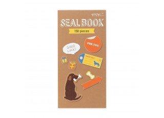 sticker-book-dog